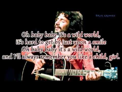 Yusuf Islam (Cat Stevens) Wild World Lyrics