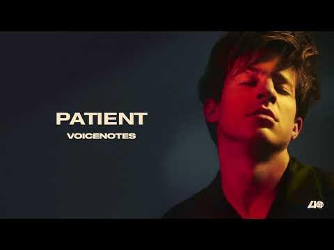 Charlie Puth - Patient [Official Audio]