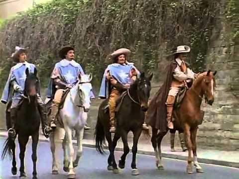 Песня Мушкетеров Пора-порадуемся... - Song Of Three Musketeers 1978