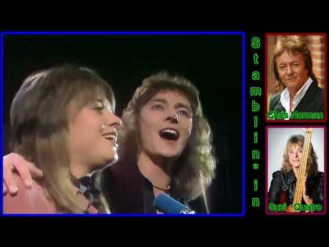 Chris Norman & Suzi Quatro  Stumblin' In 1978 4K UHD