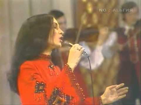 София Ротару - Песня о моем городе Песня года - 1973